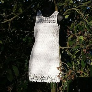 Hollister • White Lace Dress